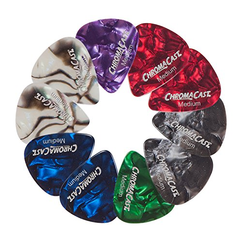 0.70mm ChromaCast Pearl Celluloid Guitar Pick