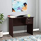 HomeTown Simply Engineered Wood Study Table in Walnut Color