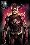 "POSTER STOP ONLINE Justice League - Movie Poster/Print (The Flash/Solo) (Size: 24"" x 36"") (By"