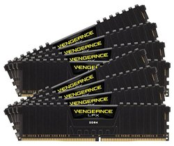 Corsair CMK128GX4M8Z2933C16 Vengeance LPX 128GB (8x16GB) DDR4 2933 (PC4-23400) C16 Desktop Memory for AMD Threadripper