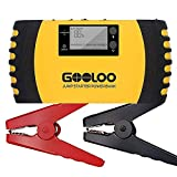 GOOLOO 1000A Peak 20800mAh SuperSafe Car Jump Starter with USB Quick Charge 3.0 (Up to 8.0L Gas, 6.0L Diesel Engine) 12V Auto Battery Booster Portable Charger Power Pack Built-in Smart Protection