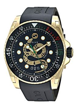 Gucci Dive Watch Black One Size