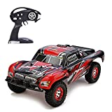 KELIWOW Electric RC Buggy 1/12 Scale Remote Control Car 2.4GHz All Terrain RC Rock Crawler Monster Truck 40KM/h High Speed Off-Road Best RC Racer for Kids and Adults-Red