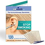 Stop Smoking Ear Seed Kit- 120 Ear Seeds, Stainless Steel Tweezer by EarSeeds.com