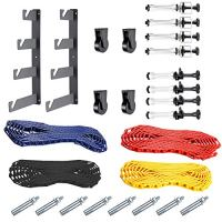 Neewer Photography 4 Roller Wall Mounting Manual Background Support System, including Two(2) Four-fold hooks, Six(6…