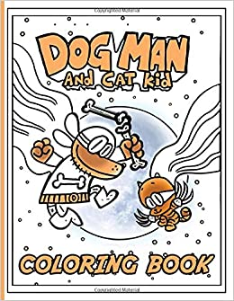 Dog Man Coloring Book Dog Man Coloring Books For Adult Perfect Gift Birthday Or Holidays Chapman Milo 9798646240973 Amazon Com Books
