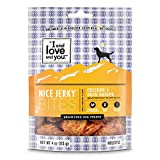 I and love and you Nice Jerky Bites - Grain Free Dog Treats, Chicken + Duck, 4-Ounce, Pack of 1