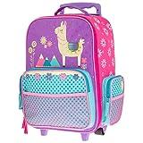 Stephen Joseph Kids' Toddler Classic Rolling Luggage, Llama, No No Size