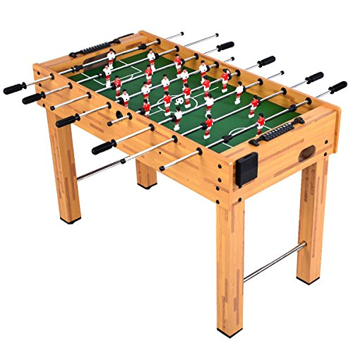 Goplus Foosball Table Soccer Game Table Competition Sized Football Arcade for Indoor Game Room Sport...