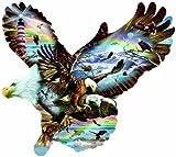 SUNSOUT INC Eagle Eye 1000 pc Shaped Jigsaw Puzzle