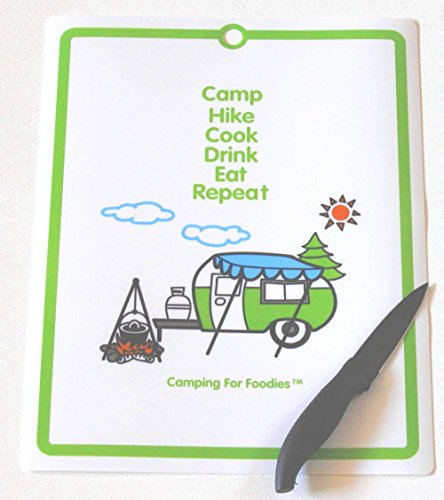 Cutting Mat is great gear for making this Carrot Cake Oatmeal Camping Breakfast Recipe