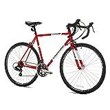 Giordano Libero Acciao Road Bike, Medium/56cm, Red