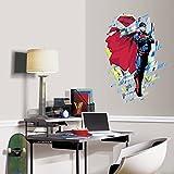 "RoomMates RMK3058TB Classic Superman Peel & Stick Giant Wall Graphic, 23"" x 34"""