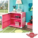 Product review for Kids Night Stand-Storage Bed Side Box, 2-Shelf Night Stand-Storage Box, Race Car Design, Metal ,Pink & ebook Home Decor