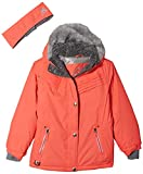 ZeroXposur Girls' Big Laurel Snowboard Jacket, Salmon, Medium