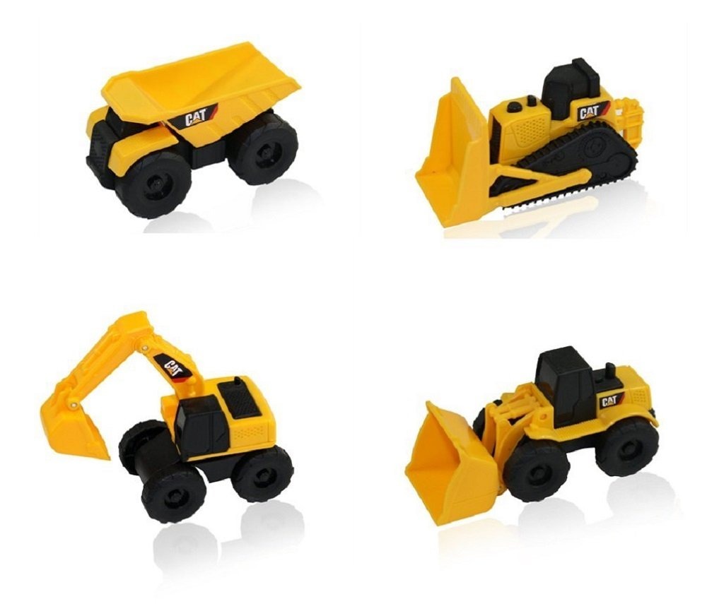 CAT Mini Machine Caterpillar Construction Toy Truck Mini Machine Set