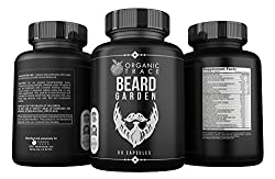 Beard Garden- The Ultimate Beard, Hair and Mustache Supplement. All-Natural Ingredients That Work! Quickly and Naturally Grow A Thicker, Fuller Beard and Mustache. The BEST Beard Vitamin Supplement.  Image 1