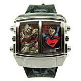 "Batman V Superman ""Battle Mode"" Exclusive Mens Watch (BVS9063)"