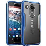 Nexus 5X Case, SUPCASE Google Nexus 5X Case Cover (2015 Release) Unicorn Beetle Series PremiumSlim Hybrid Protective Case/Bumper (Frost/Blue)