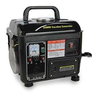 XtremepowerUS 1200Watt Portable Gasoline Power Generator,Black