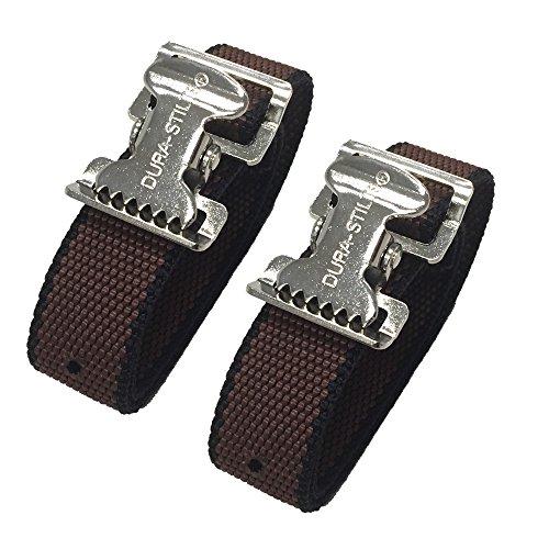 Stilt Ankle / Arch Strap - Set of 2 - Fits Dura-Stilt, Pentagon, Go-Plus, Gyp-Tool and Most Other Brands - Bandas de Pie Atraseras Para Zancos