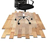 Desk Chair Mat for Hardwood Floor - Hard Floor Protection Mat for Office & Home | Many Sizes Available | Clear - 30' x 48' with Lip