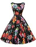 1950's Vintage Inspired Dresses for Women Short Size 3XL F-14