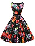 1950's Vintage Inspired Dresses for Women Short Size 3XL F-14