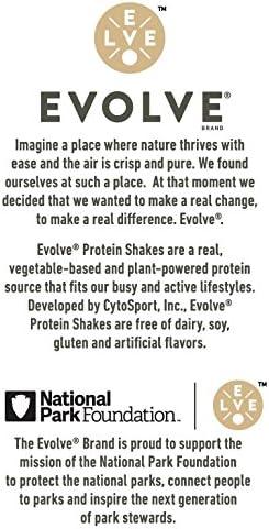 Evolve Protein Shake, Ideal Vanilla, 20g Protein, 11 Fl Oz (Pack of 12) 3