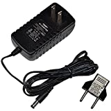HQRP AC Adapter Compatible with Gold's Gym Stride Trainer 380 Elliptical GGEL62808 GGEL628080 GGEL628081 Power Supply Cord [UL Listed] + Euro Plug Adapter