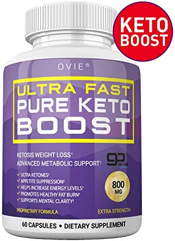 Ultra Fast Keto Boost - Advanced Clinically-researched Patented GoBHB Pure BHB Salts (beta hydroxybutyrate) - 800mg Keto Diet Pills - Best Ketosis Ketogenic Supplement; 60 Capsules; 30 Day Supply 5
