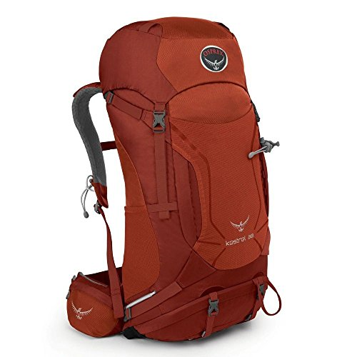Osprey Packs Kestrel 38 Backpack, Dragon Red, Medium/Large