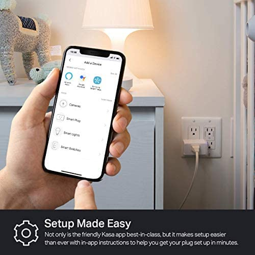 Kasa Smart Plug HS103P2, Wi-Fi Outlet works with Alexa, Echo and Google Home &IFTTT, No Hub Required, Remote Control, 15 Amp, UL Certified, 2-Pack 18