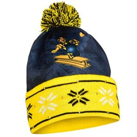 Pittsburgh Steelers Official NFL Big Logo Beanie Stocking Stretch Knit Sock Hat by Forever Collectibles 737766