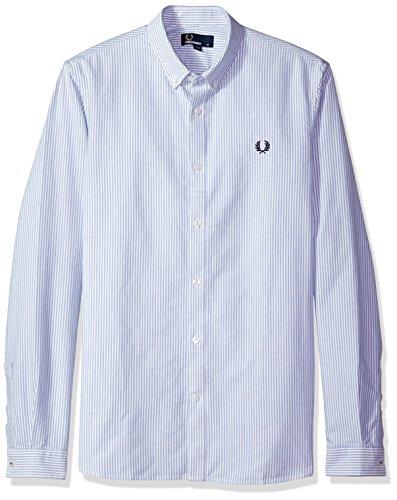 51ho3vXSF1L Slim fit Oxford shirt Pinstripe