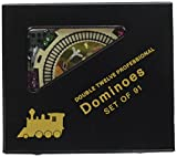 CHH New Double 12 Mexican Train Dominoes Set with Dots