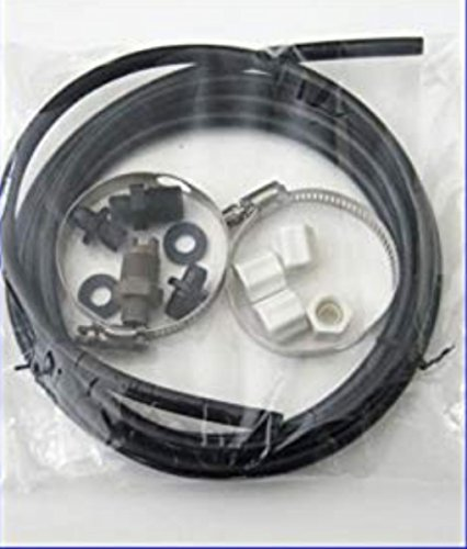 Hayward CL220 Off Line Pool Chlorinator Feeder Hose Tubing Nuts Clamps Parts Kit