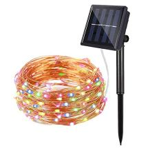 dephen-LED-Solar-String-Lights-120-LED-Copper-Wire-Starry-Lights-20ft-Fairy-Christmas-Decor-Rope-Solar-Outdoor-Lighting-Garden-Wedding-Home-Patio-Camping-DecorationMulticolor