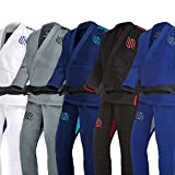 Sanabul Essentials v.2 Ultra Light Preshrunk BJJ Jiu Jitsu Gi (Blue, A2) (See Special Sizing Guide)