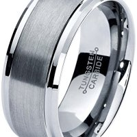 Tungsten Wedding Polished Lifetime Guarantee