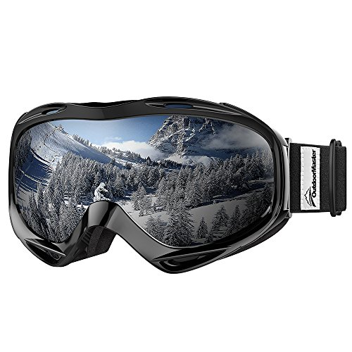 OutdoorMaster OTG Ski Goggles - Over Glasses Snow Goggles