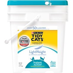 Purina-Tidy-Cats-LightWeight-Instant-Action-Multiple-Cats-Clumping-Dust-Free-Cat-Litter-17-lb-Pail