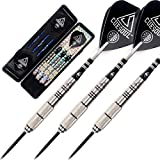CUESOUL Tungsten Steel Tip Darts- Precise Barrels 22 Grams 90% Tungsten