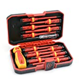 RDEER 1000V Insulated Screwdriver Set CR-V Magnetic Phillips Slotted Pozidriv Torx Screwdriver