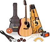 Mitchell MD100PK Dreadnought Acoustic Guitar Pack Natural