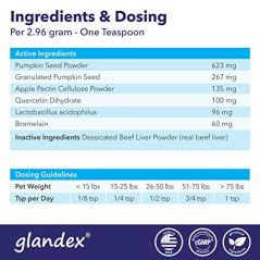 Glandex-Dog-Cat-Anal-Gland-Sac-Powder-With-Fiber-Pumpkin-Digestive-Enzymes-Probiotics--Anal-Gland-Supplement-Vet-Recommended-Healthy-Bowels-Digestion-Boot-The-Scoot-55oz-Beef-Liver-Powder