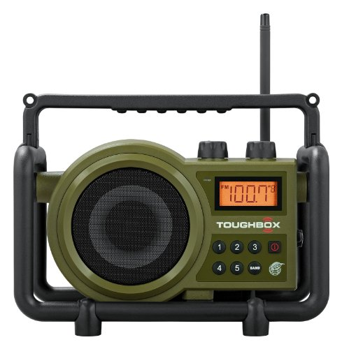 Sangean TB-100 (Toughbox) AM/FM/AUX-In Rechargeable Radio
