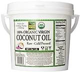 Native Forest 100% Organic Virgin Coconut Oil, 128 Ounce Tub