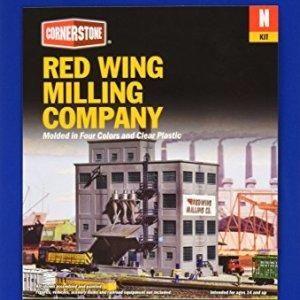 Walthers, Inc. Red Wing Milling Co. Kit, 6-5/8 X 4-7/8″ 16.5 x 12cm 51iJWIustVL