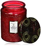 Voluspa Goji and Tarocco Orange Large Glass Jar Candle, 16 Ounce